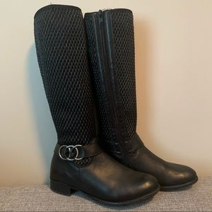 REMONTE knee high boots size 37 Black